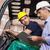 heftruck · bestuurder · praten · manager · groot · magazijn - stockfoto © wavebreak_media