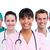 retrato · médicos · equipo · blanco · trabajo - foto stock © wavebreak_media