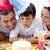 peu · garçon · célébrer · anniversaire · parents · maison - photo stock © wavebreak_media