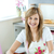 Portrait of a delighted woman preparing a cake  in the kitchen stock photo © wavebreak_media