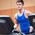 man · gymnasium · machine · sport · fitness - stockfoto © wavebreak_media
