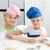 gelukkig · broer · zus · permanente · keuken · naar - stockfoto © wavebreak_media