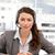 portret · charismatische · zakenvrouw · vergadering · kantoor · vrouw - stockfoto © wavebreak_media