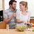 два · молодые · люди · кухне · гостиной · человека · домой - Сток-фото © wavebreak_media