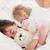 portre · çocuklar · uyku · yatak · odası · aile · mutlu - stok fotoğraf © wavebreak_media