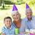 happy grandparents with their grandson stock photo © wavebreak_media