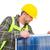 worker tightening solar panel stock photo © wavebreak_media