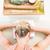 paisible · massage · table · femme - photo stock © wavebreak_media