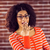 retrato · elegante · mulher · jovem · cabelos · cacheados · belo - foto stock © wavebreak_media