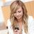 濃縮された · 女性実業家 · 送信 · 携帯電話 · 事務 - ストックフォト © wavebreak_media