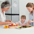 family cooking together in the kitchen at home stock photo © wavebreak_media