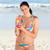 vonzó · fiatal · nő · iszik · tengerpart · hát · italok - stock fotó © wavebreak_media