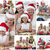 collage of families enjoying celebration moments together at home stock photo © wavebreak_media