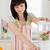 bastante · morena · mujer · mezclador · pie · cocina - foto stock © wavebreak_media