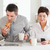 A couple is having breakfast before work stock photo © wavebreak_media