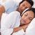 Young couple sleeping stock photo © wavebreak_media