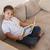 menina · leitura · enciclopédia · livros · educação - foto stock © wavebreak_media