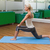 fit woman doing stretching exercise in gym stock photo © wavebreak_media