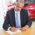 セールスマン · 車 · ショールーム · ビジネス · スーツ · 黒 - ストックフォト © wavebreak_media