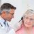 врач · уха · мужской · доктор · женщины · женщину - Сток-фото © wavebreak_media