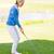 golf · topu · kadın · kulüp · golf · eğlence - stok fotoğraf © wavebreak_media