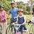 glückliche · Familie · Fahrrad · Park · Frühling · Mann - stock foto © wavebreak_media