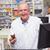 olhando · câmera · farmácia · homem · médico · hospital - foto stock © wavebreak_media