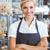 femenino · Baker · panadería · baguette · vendedora · frescos - foto stock © wavebreak_media