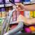nő · vásárol · termékek · okostelefon · áruház · piac - stock fotó © wavebreak_media