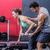 ginásio · homem · mulher · força · crossfit - foto stock © wavebreak_media