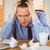 Stressed businessman with head in hands stock photo © wavebreak_media