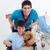 Porträt · wenig · Junge · Sitzung · Rollstuhl · Arzt - stock foto © wavebreak_media