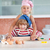 szczęśliwy · dziewczynka · gotować · portret · uśmiech · dziecko - zdjęcia stock © wavebreak_media