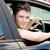 Smiling man sitting in his car looking at the camera stock photo © wavebreak_media