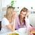iki · yakın · kadın · arkadaşlar · konuşma · birlikte - stok fotoğraf © wavebreak_media