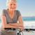 Senior woman with her bike stock photo © wavebreak_media