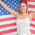 szczęśliwy · starych · chwała · banderą - zdjęcia stock © wavebreak_media