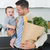 businessman with grocery carrying baby stock photo © wavebreak_media