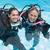 smiling friends on scuba training in swimming pool making ok sig stock photo © wavebreak_media