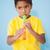 cute little boy playing the recorder in classroom stock photo © wavebreak_media
