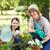 happy blonde and her daughter gardening stock photo © wavebreak_media
