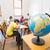 escuela · primaria · geografía · clase · mundo · ninos · nino - foto stock © wavebreak_media