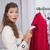 vrouw · zak · naar · kleding · meisje - stockfoto © wavebreak_media