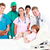 doctors attending to a mother and her newborn baby stock photo © wavebreak_media