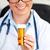 jovem · feminino · médico · pílulas - foto stock © wavebreak_media