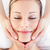 portret · glimlachend · jonge · vrouw · massage · spa · vrouw - stockfoto © wavebreak_media