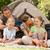 család · nyaralások · kollázs · képek · szórakozás · tengerpart - stock fotó © wavebreak_media