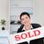 portret · sprzedany · płyta · biuro · domu - zdjęcia stock © wavebreak_media