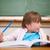 gelukkig · meisje · pen · klas · meisje · school - stockfoto © wavebreak_media
