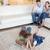 sevimli · çocuklar · ebeveyn · izlerken · oturma · odası - stok fotoğraf © wavebreak_media